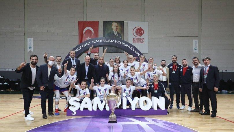 Basketbolda Kadınlar Federasyon Kupası'nı Emlak Konut kazandı