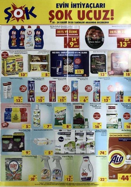 ŞOK 18 Kasım 2020 Aktüel ürünler kataloğu! ŞOK haftanın indirimli ürünler listesi
