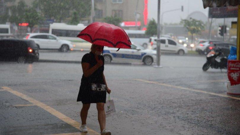 Son dakika yağmur uyarısı: Meteoroloji 17 Kasım hava durumu - Bugün