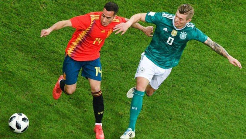 İspanya Almanya maçı ne zaman, saat kaçta, hangi kanalda canlı yayınlanacak? İspanya Almanya maçı şifreli mi?