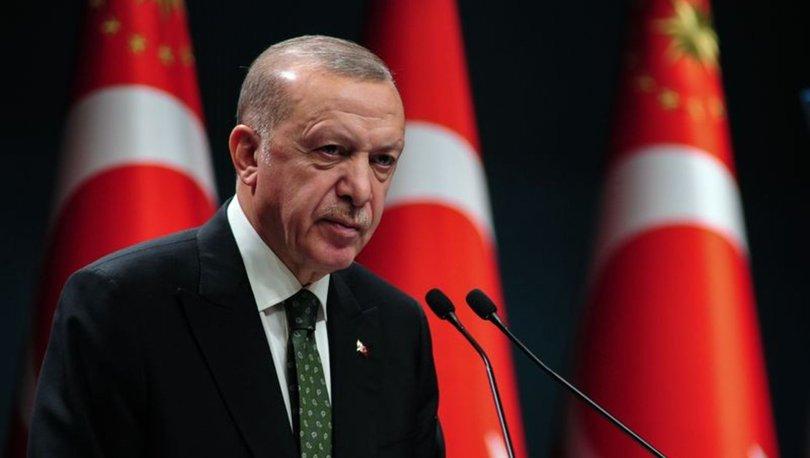 Son dakika haberi: Cumhurbaşkanı Erdoğan'dan sokağa çıkma kısıtlaması açıklaması
