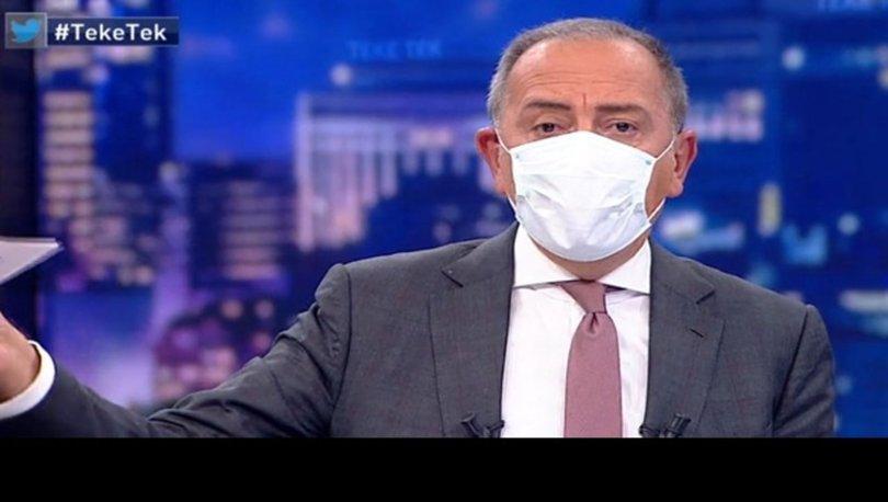 Son dakika... Fatih Altaylı'dan canlı yayında maske isyanı: VİDEO HABER