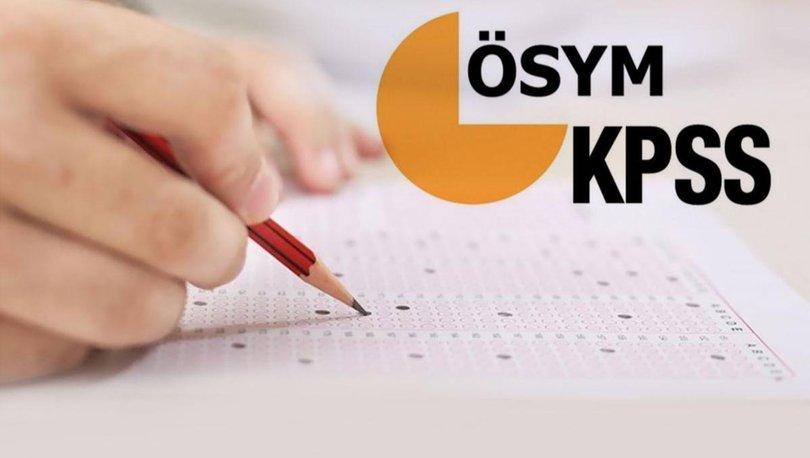 KPSS Ortaöğretim sınavı ne zaman? ÖSYM KPSS 2020 Ortaöğretim sınav giriş belgesi sorgulama
