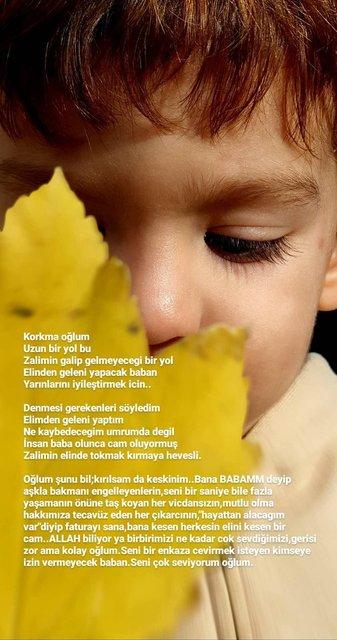 Özcan Deniz: Korkma oğlum, baban elinden geleni yapacak - Magazin haberleri