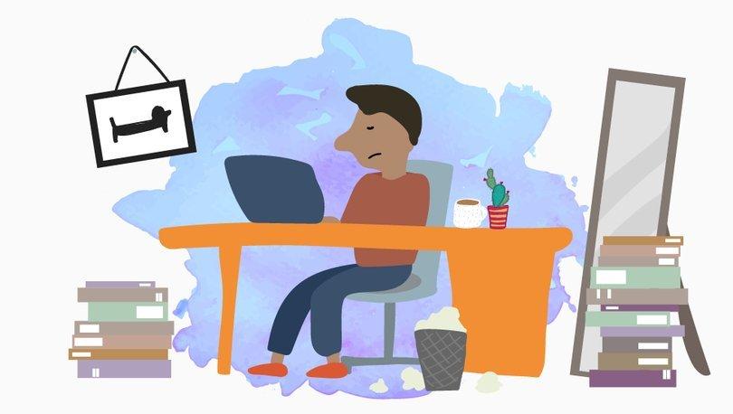 Koronavirüs: Evden çalışırken daha mutlu olmak için tavsiyeler