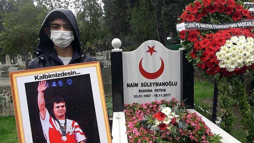 Naim Süleymanoğlu, vefatının üçüncü yıl dönümünde anıldı