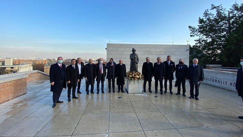 Bakan Kasapoğlu ve TFF Başkanı Özdemir, Budapeşte'de ziyaretlerde bulundu