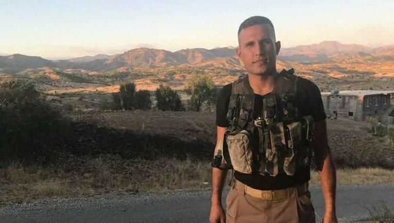 Diyarbakır'da görev yapan uzman çavuş Cumhur Tokuş silahının ateş alması sonucu şehit oldu