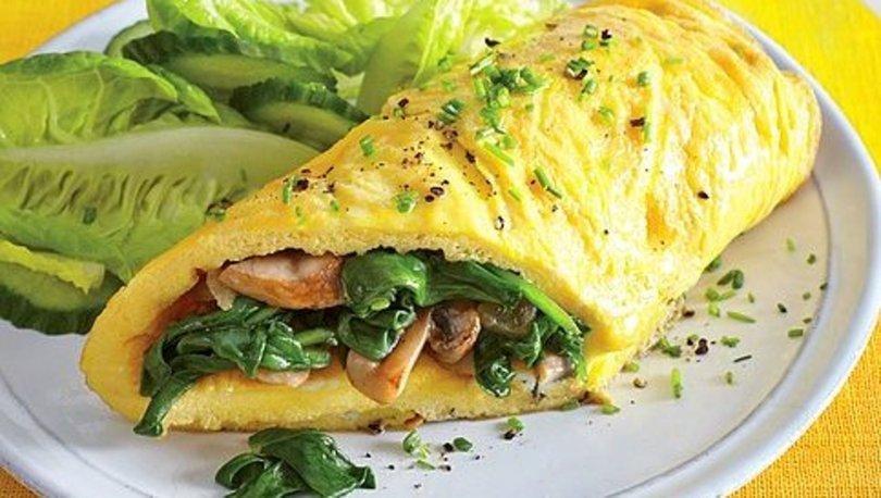 Avokadolu ve omletli dürüm tarifi, nasıl yapılır?