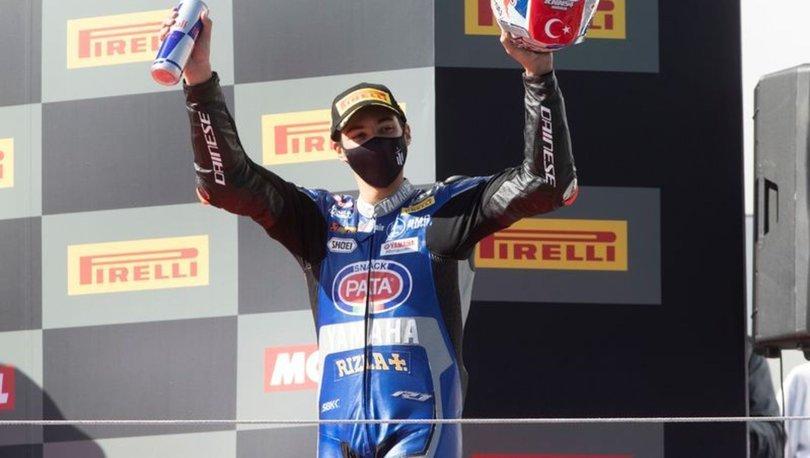 Milli motosikletçi Toprak Razgatlıoğlu, 2021'in ilk testini İspanya'da yaptı