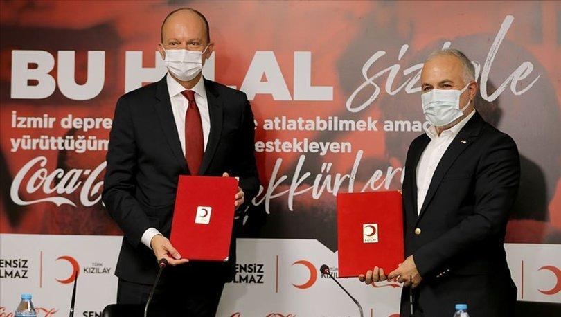 Türk Kızılay, Coca Cola'nın 3,5 milyon liralık yardımını depremzedelere ulaştıracak