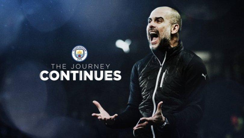 Pep Guardiola 2 yıl daha Manchester City'de!