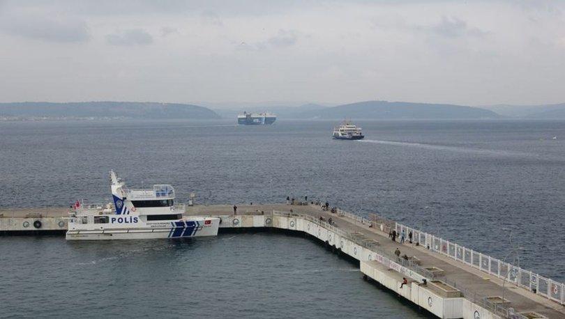 Gökçeada ve Güney Marmara'da tüm feribot seferleri iptal edildi