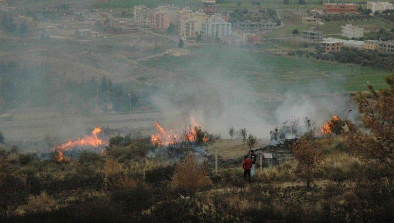 Son dakika: Hatay İskenderun'da orman yangını!