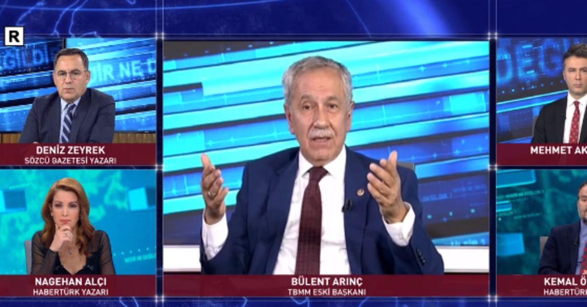 Yüksek İstişare Kurulu üyesi Bülent Arınç, Habertürk'te soruları yanıtladı | Gündem Haberleri