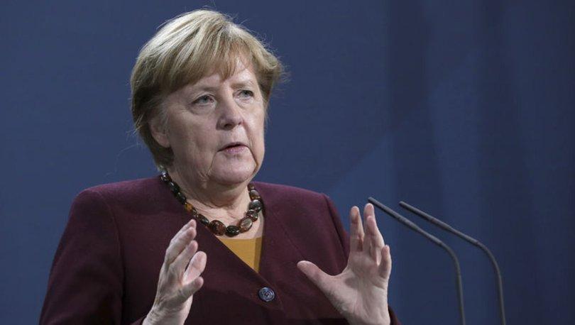 Son dakika: Almanya Başbakanı Merkel'den Türkiye açıklaması