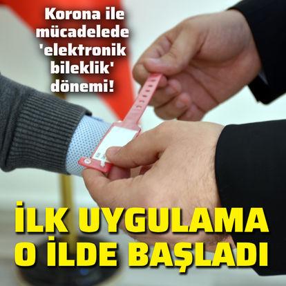 Son dakika: Korona ile mücadelede 'elektronik bileklik' dönemi! - Haberler
