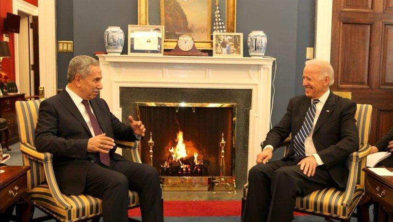 Bülent Arınç'tan Joe Biden'a tebrik!
