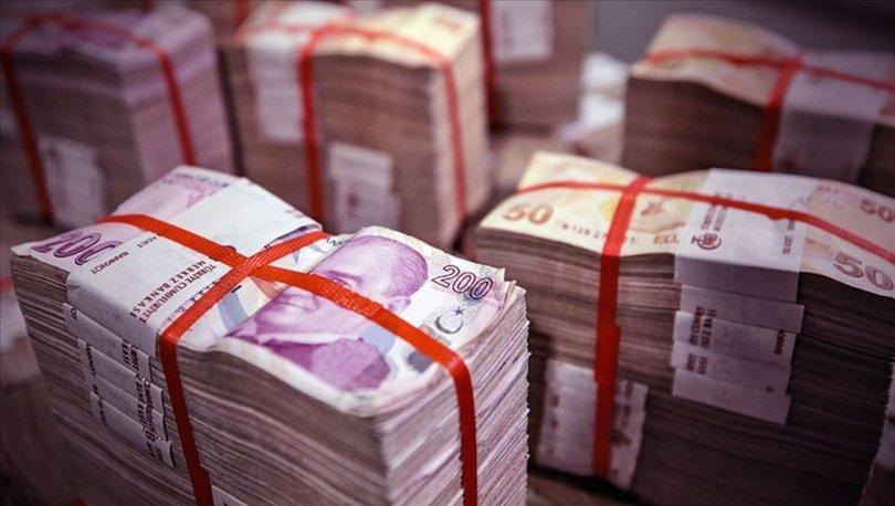 Hazine alacakları ekim sonu itibarıyla 19,2 milyar lira