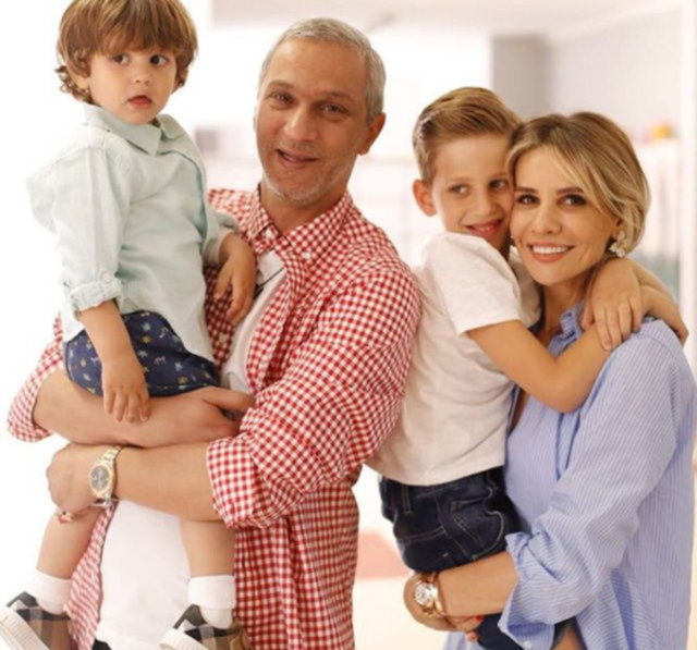 Esra Erol ve Ali Özbir'in oğlu Ömer beş yaşında - Magazin haberleri