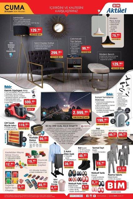 BİM Aktüel ürünler kataloğu! BİM haftanın indirimli ürünler listesi