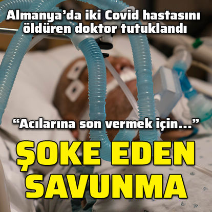 DEHŞETE DÜŞÜRDÜ! Doktor iki koronavirüs hastasını öldürdü - Haberler