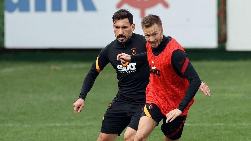 Galatasaray'da Kayserispor maçı hazırlıkları