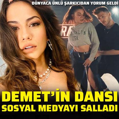 Demet Özdemir'in dansı olay oldu - Magazin haberleri