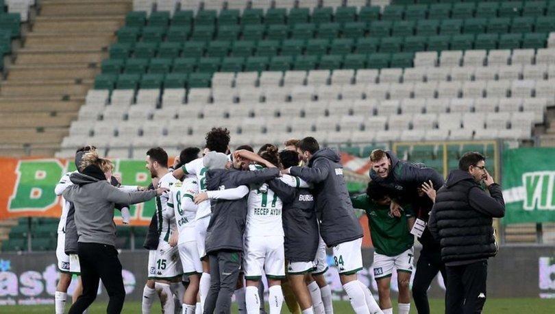 Bursaspor: 1 - Adanaspor: 0 | MAÇ SONUCU