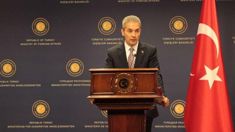Dışişleri: Türkiye ve Kıbrıs Türkleri'nin hakları korunmaya devam edilecek