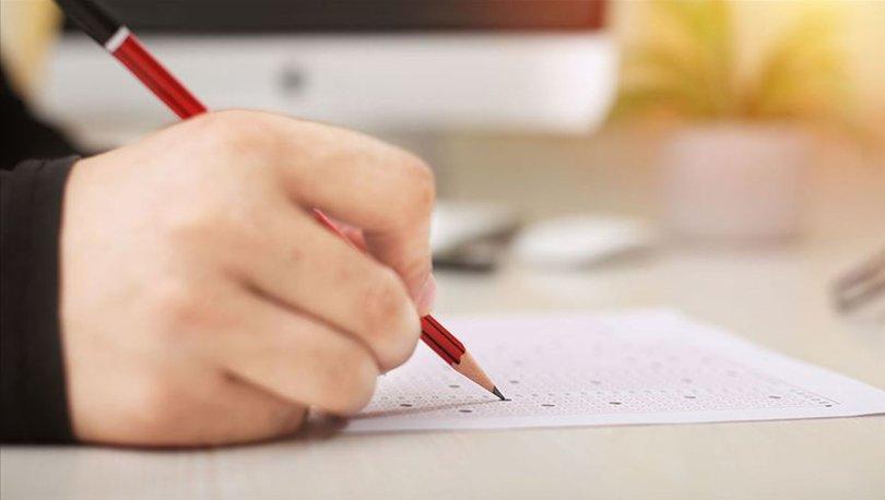 KPSS ortaöğretim sınavı saat kaçta? 2020 KPSS ortaöğretim