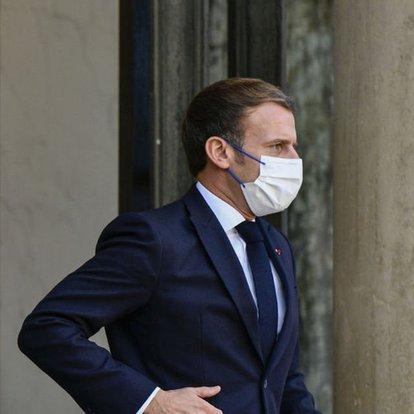 Fransa Cumhurbaşkanı Macron'dan Ermeni derneğine destek ziyaretinde bulundu
