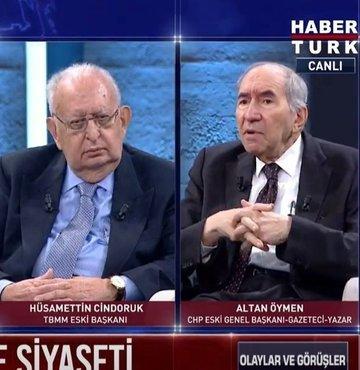 Olaylar ve Görüşler programında Serap Belet ile Muharrem Sarıkaya