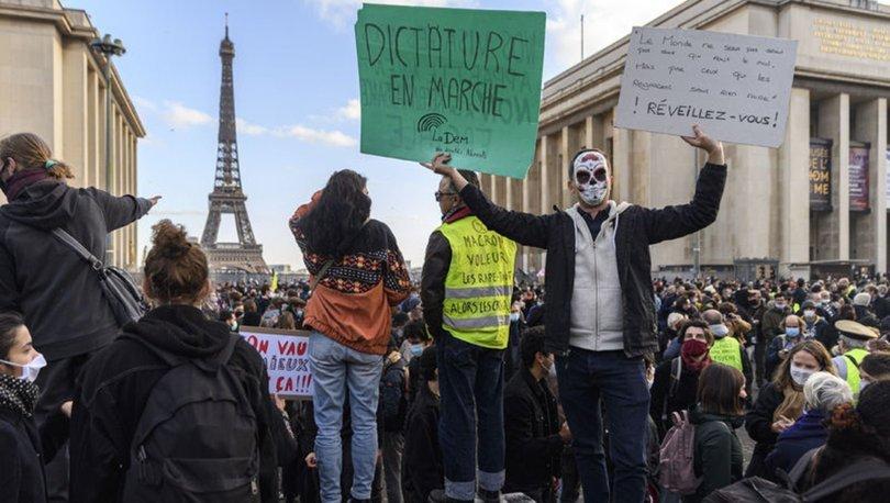 Son dakika haberi: Fransa'da sokaklar yine karıştı!