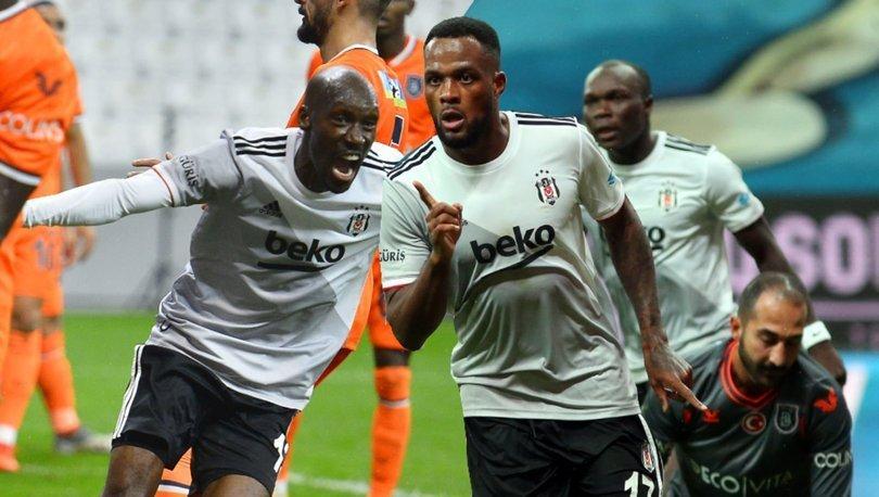 Beşiktaş'ın gol yükü Larin, Aboubakar ve Atiba'da
