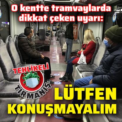 Son dakika haberi: Kayseri'deki tramvaylarda dikkat çeken uyarı! - haberler
