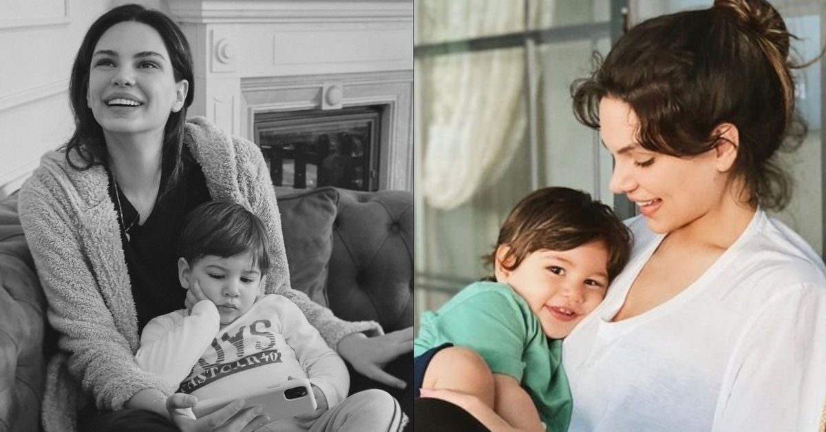 Almeda Abazi oğlu Efehan'ı paylaştı - Magazin haberleri