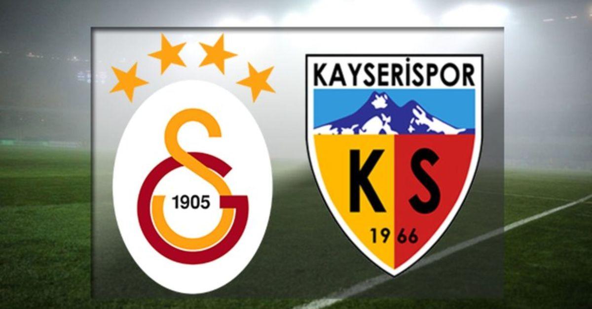 Galatasaray Kayserispor maçı ne zaman, saat kaçta, hangi kanalda? GS maçı muhtemel 11