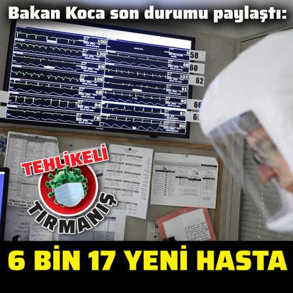 Koronavirüs tablosu SON DAKİKA: Bakan Fahrettin Koca açıkladı: 22 Kasım yeni vaka sayısı...
