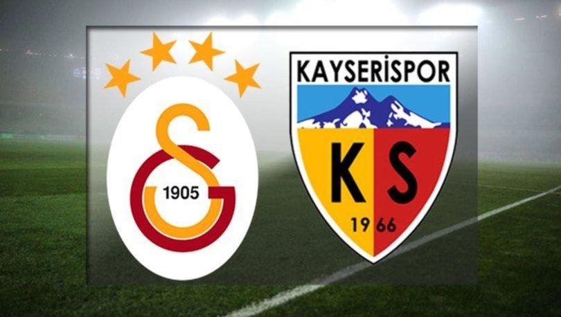 Galatasaray Kayserispor maçı ne zaman, saat kaçta, hangi kanalda yayınlanacak? GS maçı muhtemel 11