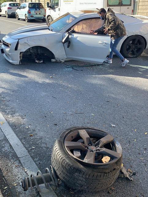 Enes Batur trafik kazası geçirdi! Enes Batur ve sevgilisi ölümden döndü - Son dakika Magazin haberleri