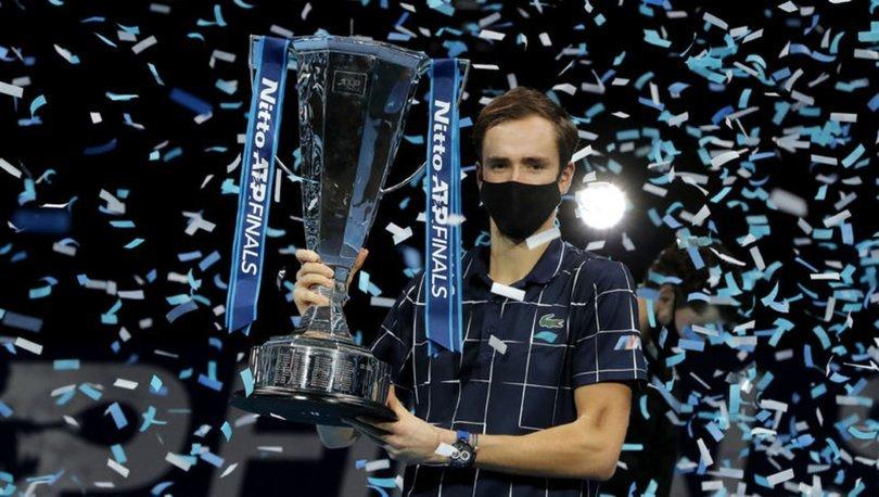 ATP'de şampiyon Medvedev