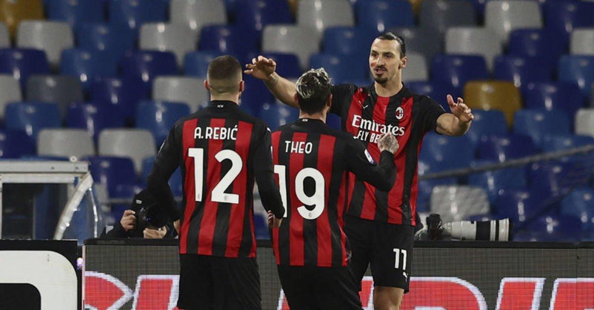 Napoli: 1 - Milan: 3 MAÇ SONUCU