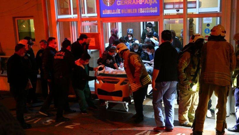 İstanbul Üniversitesi Cerrahpaşa Tıp Fakültesinde yangın paniği