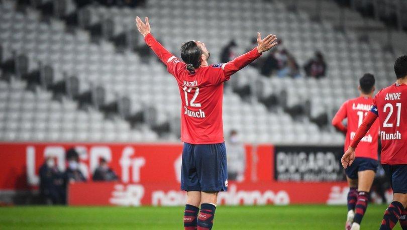 Lille: 4 - Lorient: 0 MAÇ SONUCU