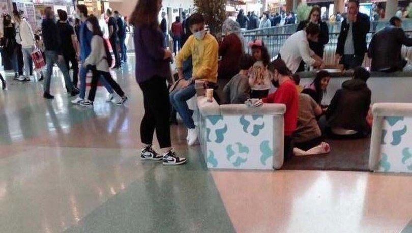 Son dakika! ÖLÜM BÖYLE GELİYOR! AVM'de yere oturarak yemek yediler! - Haberler