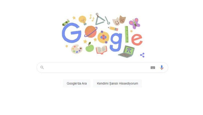 Google'dan Öğretmenler Günü Doodle sürprizi! 24 Kasım Öğretmenler gününün önemi nedir, neden kurlanır?
