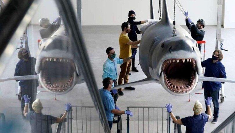 Jaws filminde kullanılan dev köpekbalığı yenilendi