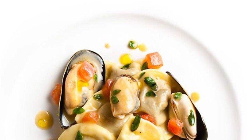 Deniz Mahsullü Raviolli nasıl yapılır? Deniz Mahsüllü Raviolli tarifi ve malzemeleri