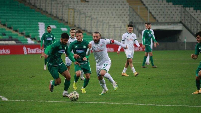 Bursaspor: 1 - Karatay Termal 1922 Konyaspor: 0 MAÇ SONUCU